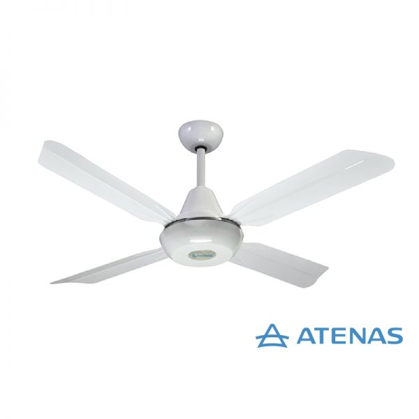 Ventilador de Techo Blanco Sin Luz 10 Años de Garantía - Atenas
