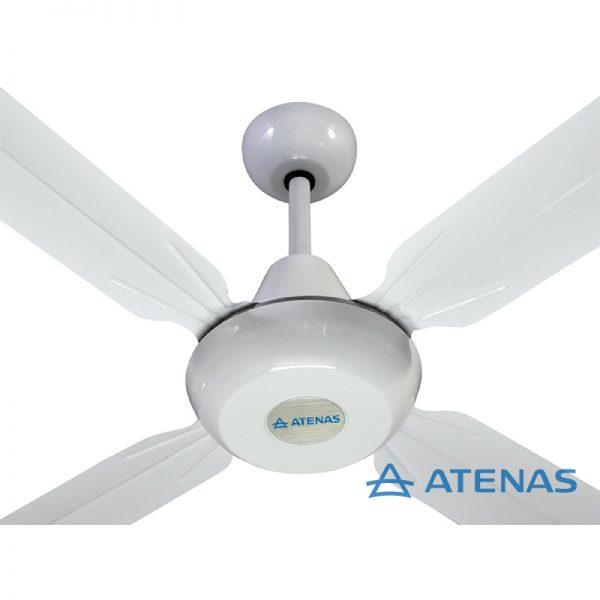 Ventilador de Techo Metálico Blanco - Atenas