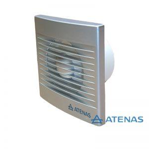 """Extractor de Baño 6"""" Frente Metalizado - Atenas"""