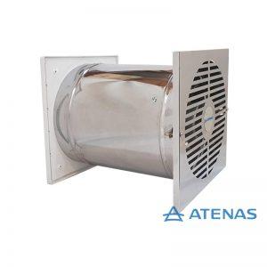 Extractor de Cocina 25 cm Acero Inoxidable - Atenas