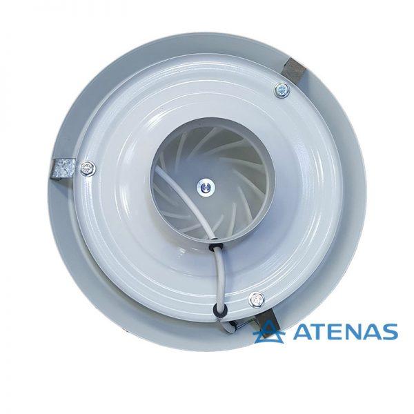 """Extractor de Aire Satélite 4"""" (10 cm) - Atenas"""