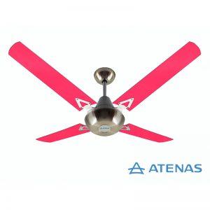 Ventilador de Techo Acrílico Fucsia - Atenas