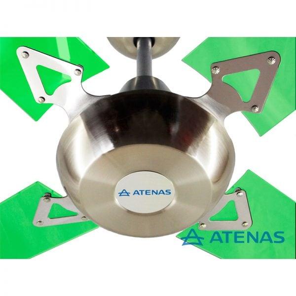Ventilador de Techo Acrilico Verde - Atenas