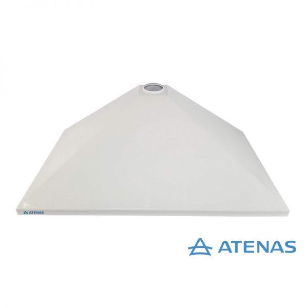 Campana de Cocina Sin Motor 100 cm Blanca - Atenas