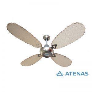 Ventilador de Techo Palas de Rattan Tipo Aceituna - Atenas