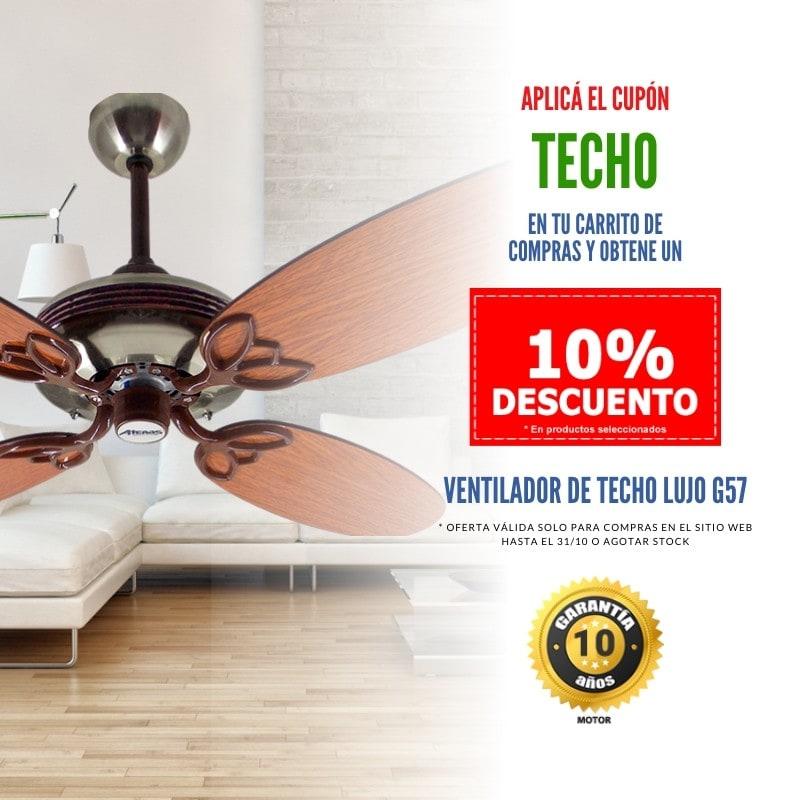 Promoción Ventilador de Techo en - Atenas Ventilación