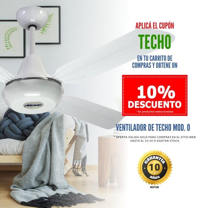 Ventilador de Techo en Oferta - Atenas Ventilación