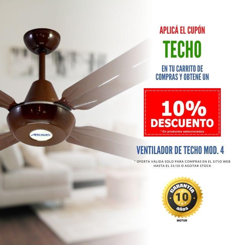Ventiladores de Techo en Oferta - Atenas Ventilación