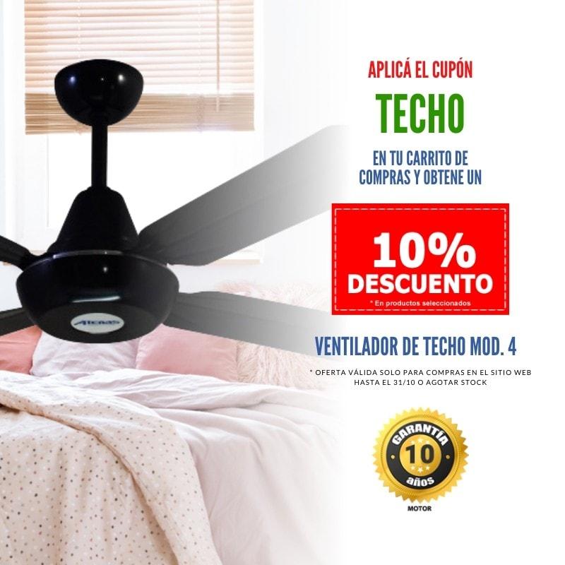 Promocion Ventiladores de Techo en - Atenas Ventilación