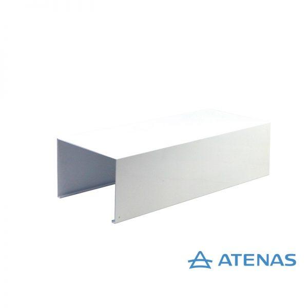 Cubre Caño Recto de 100 cm. Blanco - Atenas