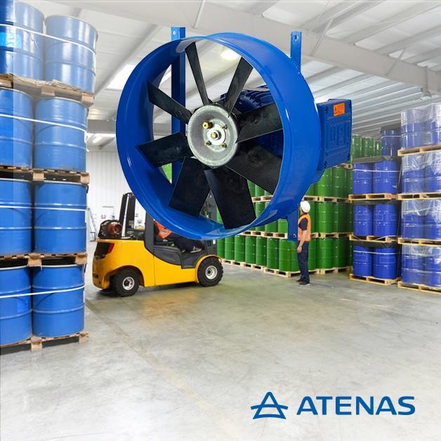 Extractores Antiexplosivos - Atenas