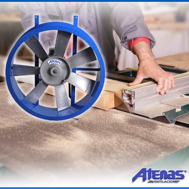 Extractores Axiales Aspas Fundidas - Atenas Ventilación