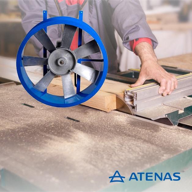 Extractores Axiales Aspas Fundidas - Atenas