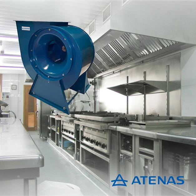 Extractores Centrífugos - Atenas