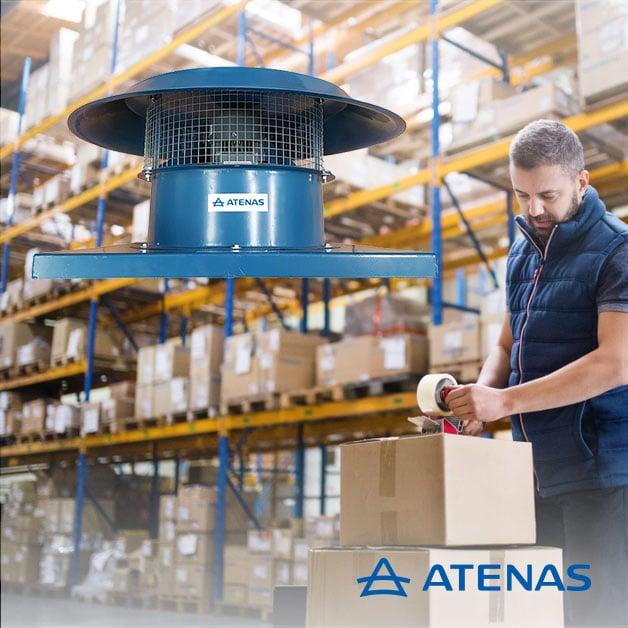 Extractores para Techos - Atenas