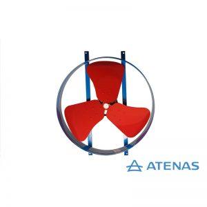 Extractor Helicoidal 50 cm 220v 1400rpm - Atenas