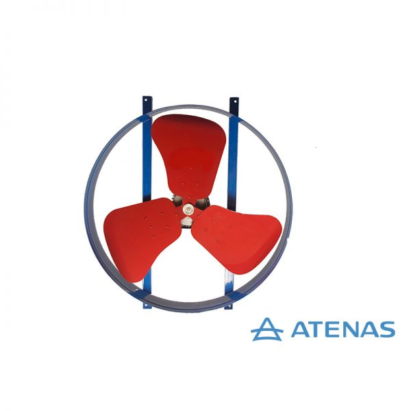 Extractor Helicoidal 60 cm 220v 1400rpm - Atenas