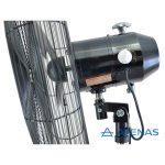 """Ventilador Industrial de Pie 26"""" (65 cm) Oscilante 220v - Motor Czerweny - Atenas"""