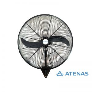 "Ventilador Industrial de Pared 26"" (65 cm) Oscilante 220v - Motor Czerweny - Atenas"