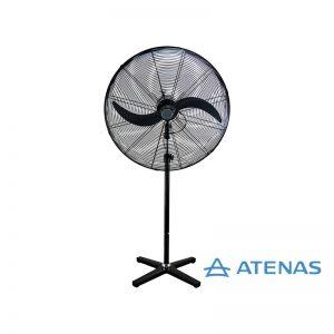 """Ventilador Industrial de Pie 30"""" (75 cm) Fijo 220V - Motor Czerweny - Atenas"""