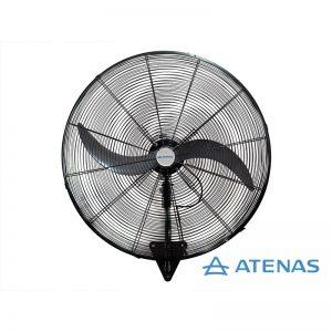 "Ventilador Industrial de Pared 30"" (75 cm) Oscilante 220 v - Motor Atenas - Atenas"