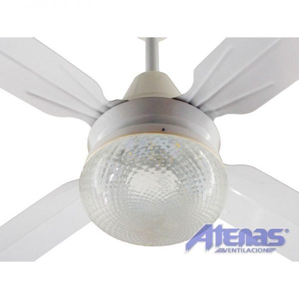 Ventilador de Techo N30 + Iluminación con Lampara LED
