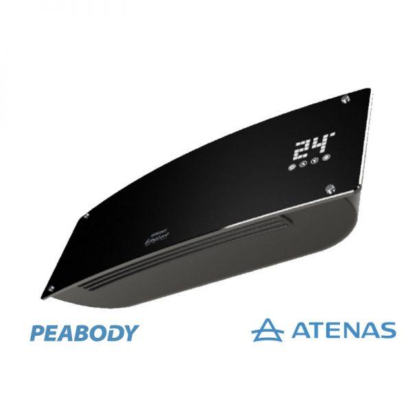 Caloventor de Pared 2000W Negro Peabody PE-CV20N - Atenas