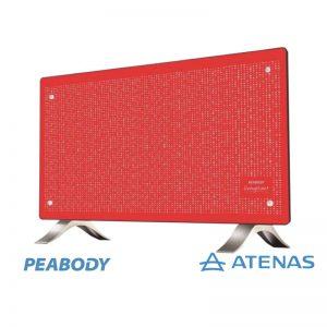 Calefactor Convector Peabody PE-VC20R 2000 Watts Rojo - Atenas