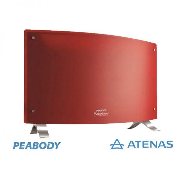 Panel Calefactor Eléctrico Peabody PE-VQM20R 2000 Watts - Atenas