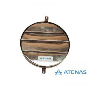 Persiana Móvil de 15 cm. Acero Inoxidable - Atenas