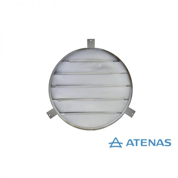 Persiana para Extractor Industrial 50 cm Móvil - Atenas