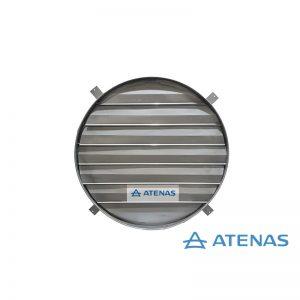 Persiana para Extractor Industrial 80 cm Móvil - Atenas