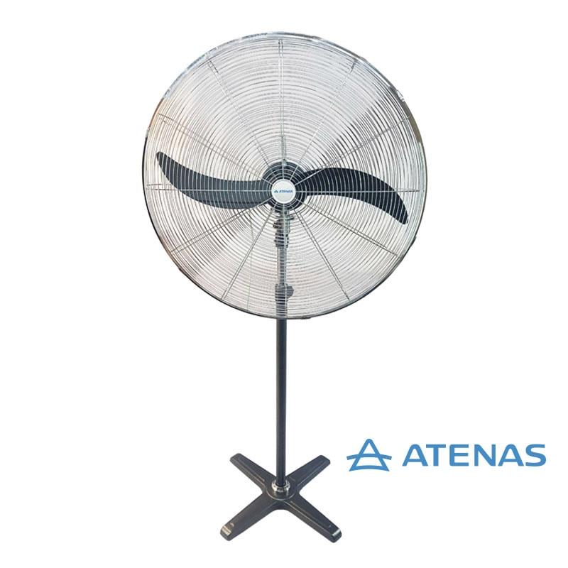 """Ventilador Industrial de Pie 30"""" (75 cm) Oscilante 380v - Motor Czerweny - Atenas"""