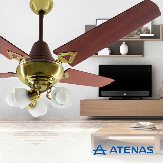 Ventilador de Techo con Luz - Atenas