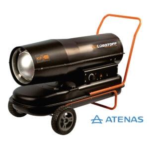Calefactor Industrial Portátil a Gasoil / Kerosene Lusqtoff HTBGO-60A - Atenas