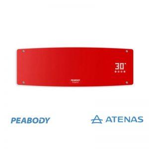 Caloventor de Pared 2000W Rojo Peabody PE-CV20R - Atenas