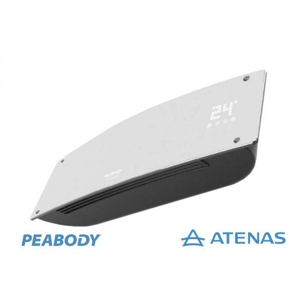 Caloventor de Pared 2000W Blanco Peabody PE-CV20B - Atenas